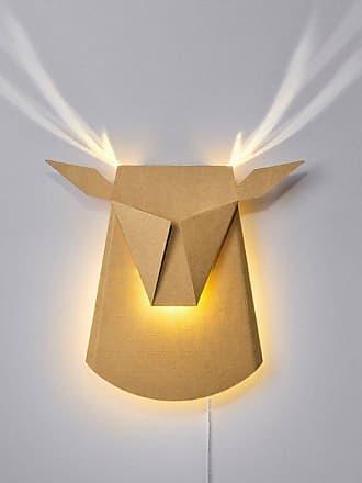 Popup Lighting DEAR HEAD-Applique LED Cerf avec prise L39cm carton brut Popup Lighting - designé par Chen Bikovski