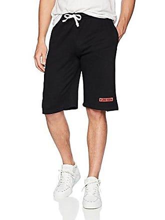 Zoo York Mens Athletic Knit Short, Straight Black, Medium