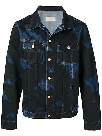 Paura Jaqueta jeans com logo - Azul