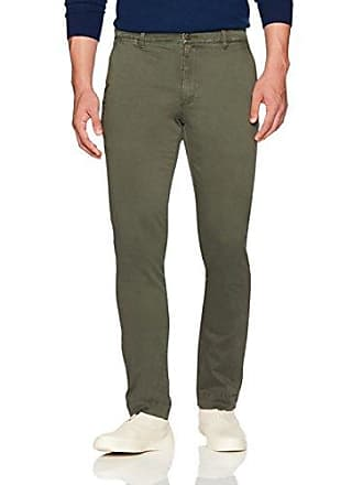 Goodthreads Mens Slim-Fit Washed Stretch Chino Pant, Olive, 30W x 29L