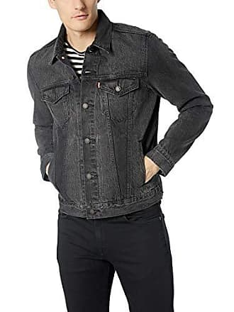 Levi's Mens The Trucker Jacket, Panther, M