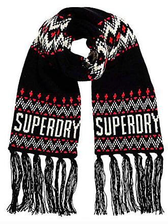 Superdry G93032YP, Echarpe Femme, Bleu (Navy), (Taille Fabricant  OS 0b701313196