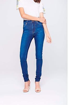 Damyller Calça Jeans Skinny Cintura Alta Tam: 36 / Cor: BLUE