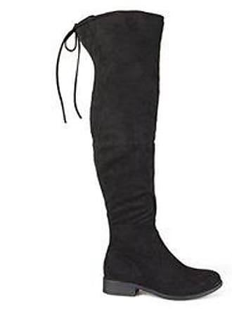 810f933ad67 Journee Collection Womens Mount Over-the-Knee Boots - Black - Size 7.5
