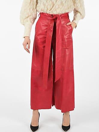 Drome Leather Boot Cut Pants Größe S