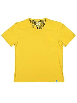 Panareha MOJITO v-neck t-shirt yellow