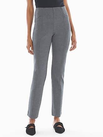 Soma Style Essentials Smoothing Ponte Pants Heather Quartz, Size XXL