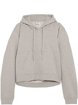 d771009d69f VETEMENTS Vetements Woman Printed French Cotton-blend Terry Hooded  Sweatshirt Stone Size L