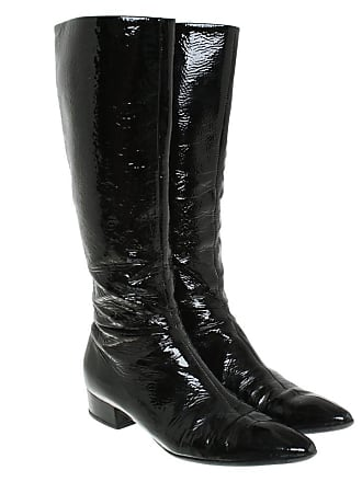 a16e09e0417cd Prada gebraucht - Stiefel in Schwarz - EU 39 - Damen - Lackleder