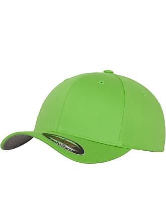 2a924ed2725ed Flexfit Mens Plain Baseball Cap Green Fresh Green XS S