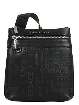 Versace Jeans Couture Mens CALIO Schwarz Geldtasche Handtasche  Einheitsgrösse 1655d82639