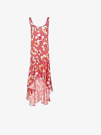 Onia martine hibiscus-print silk dress