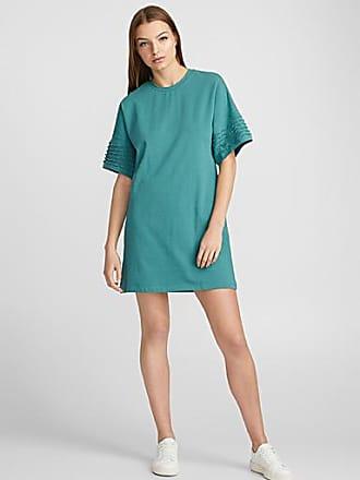 Icone Wavy-sleeve T-shirt dress