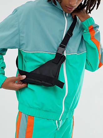 7X SVNX cross body bag-Black