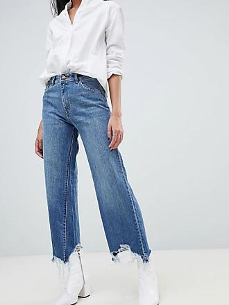 DL1961 Hepburn High Rise Wide Leg Jean - Blue