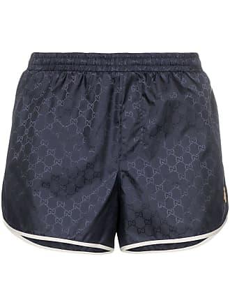 a1e5d4d1ea Gucci GG Monogram Swim Shorts - Blue