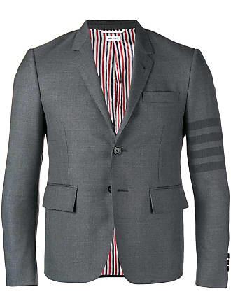 ca493e400988 Thom Browne 4-Bar High-Armhole Sport Coat - Grey