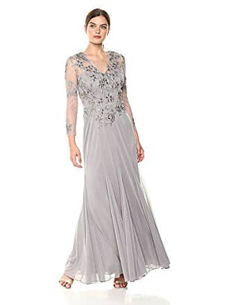 Decode 1.8 Womens Formal Evening Dress, Silver, 12