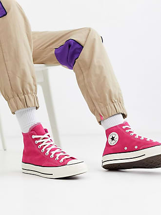 Converse Chuck - Sneakers anni 70 rosa scamosciato