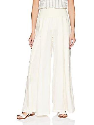 Xcvi Womens Basil Pant Linen 101 Solid, Tuscany XS