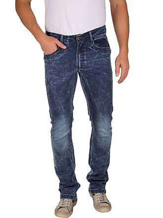 Colombo Calça Jeans Masculina Azul Escuro Texturizada 49946 Colombo