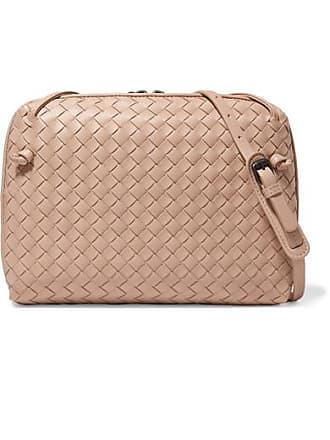 c88790763d Bottega Veneta Nodini Intrecciato Leather Shoulder Bag - Neutral