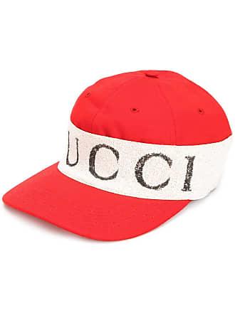 9ff9a57e063 Gucci cap with logo headband - Red