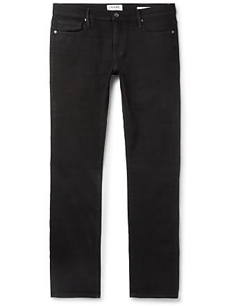 Frame Denim Lhomme Slim-fit Denim Jeans - Black