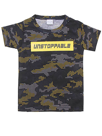 Tigor T. Tigre Camiseta Tigor T. Tigre Menino Camuflado Preta