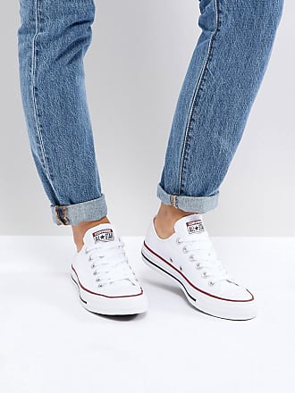 546c422aa578 Converse Chuck Taylor All Star Core White Ox Trainers