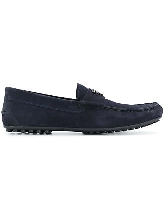 Emporio Armani penny loafers - Blue