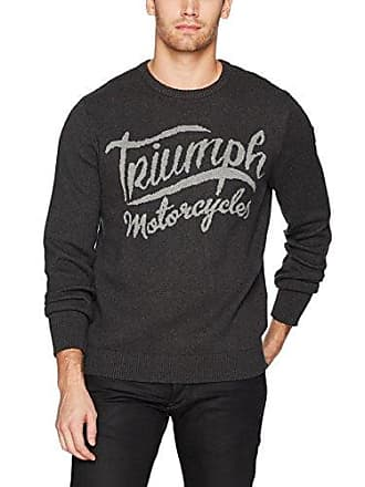 Lucky Brand Mens Triumph Sweatshirt, Charcoal, M