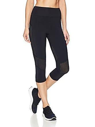 04b75a627c823 Trina Turk Recreation Womens Hybrid Active Capri Leggings, Black, Extra  Large