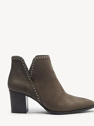Sole Society Womens Dalphine V Cut Bootie Tornado Size 5.5 Leather From Sole Society