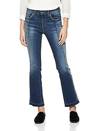 99e1c0617cb6fb Fornarina Damen Yasin Flared Jeans, Blau (Blue Op), W27/L30