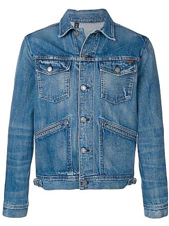 Tom Ford slim-fit denim jacket - Blue