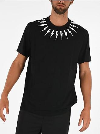 Neil Barrett Crewneck FAIR ISLE THUNDERBOLT T-shirt size 3xl