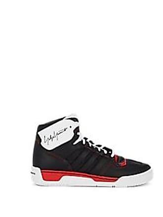 0437bcc53 Yohji Yamamoto Mens Hayworth Leather Sneakers - Black Size 11.5 M
