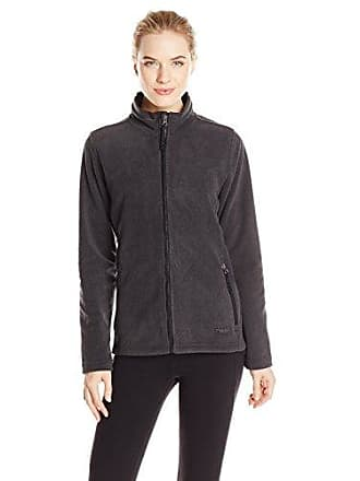 Charles River Apparel Womens Boundary Fleece Jacket, Charcoal Heather, S