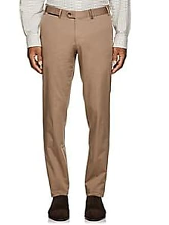 Hiltl Mens Cotton Slim Trousers - Beige/Tan Size 42