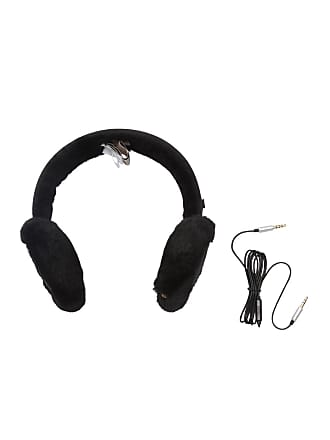 UGG Quilted Nylon Genuine Shearling Wired Ear Muffs