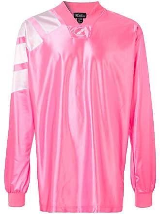 We11done Blusa oversized de jersey - Rosa