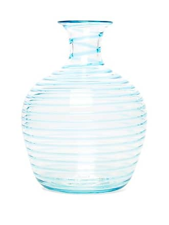 Yali Glass A Filo Large Glass Carafe - Light Blue