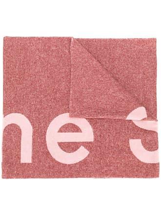 Acne Studios Toronty logo scarf - Rosa