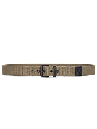 Fred Perry CINTO MASCULINO TEXTURED WEAVE BELT - VERDE