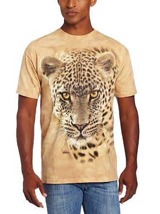 The Mountain On The Prowl Adult T-Shirt, Sand, Small