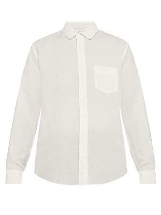 Onia Abe Linen Shirt - Mens - White