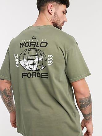 Quiksilver Global Groove - T-shirt kaki-Verde