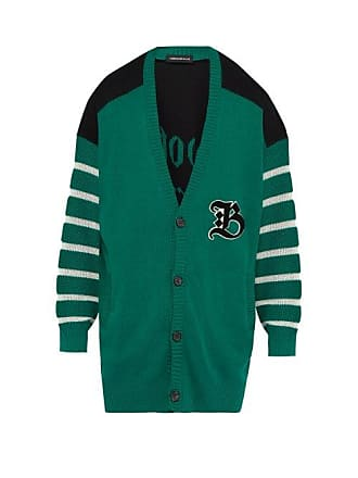 Undercover Bootleg Truth Cotton Cardigan - Mens - Green