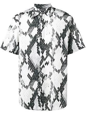 Just Cavalli Camisa mangas curtas com estampa - Preto